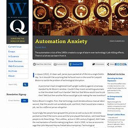 Automation Anxiety