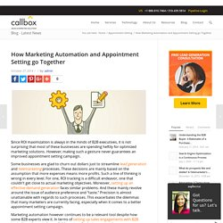 How Marketing Automation and Appointment Setting go Together