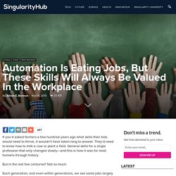 Automation Is Eating Jobs, But These Skills Will Always Be Valued In the Workplace