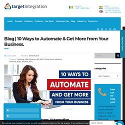 Know 10 ways to ROI- Target Integration