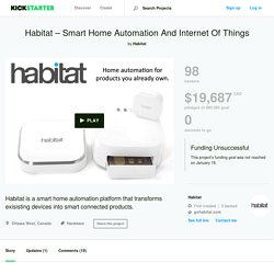 Habitat – Smart Home Automation And Internet Of Things by Habitat