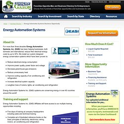 Energy Automation Systems Business Opportunity