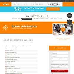 home-automation  |  Vivint