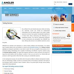 Automation, Embedded & Performance Testing - ANGLER