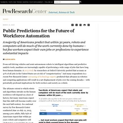 Future of Workforce Automation: America's Predictions