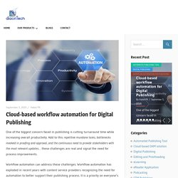 Cloud-based workflow automation for Digital Publishing