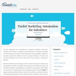 Pardot Marketing Automation for Salesforce -