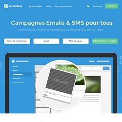 Logiciel Emailing, SMS & Marketing Automation - SendinBlue