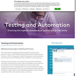 Quality Assurance (QA) Automation Testing