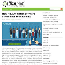 How HR Automation Software Streamlines Your Business