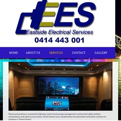 Smart Homes & Automation in Sydney, Sutherland, Hurstville, Eastern Suburbs