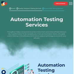 Top-notch Automation Testing Services At Shiv Technolabs