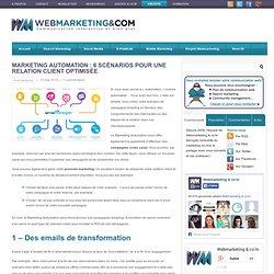 Marketing Automation : 6 scénarios pour une relation client optimisée