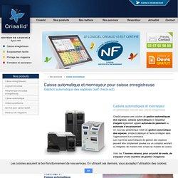 Monnayeur automatique et caisse automatique pour caisse enregistreuse