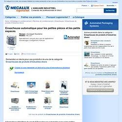 Ensacheuse automatique pour les petites pièces et les petits espaces - Autobag® PaceSetter - PS 125