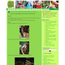 arroseur automatique pour plantes d'intérieures