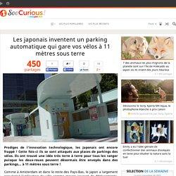 Les japonais inventent un parking automatique qui gare vos vélos à 11 mètres sous terre
