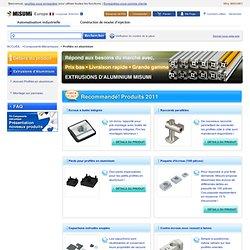 Catalogue MISUMI de composants mécaniques pour l'automatisation industrielle. eCatalogue