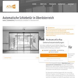 Automatische Schiebetür in Oberösterreich
