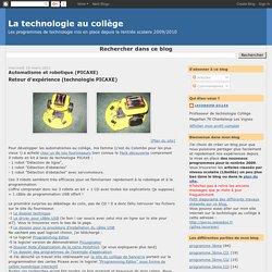Automatisme et robotique (PICAXE)