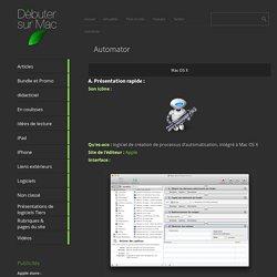 le blog Automator