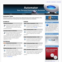 Automator: Learn