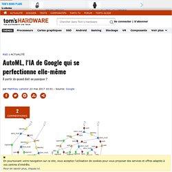 AutoML, l'IA de Google qui se perfectionne elle-même