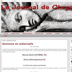 Le Journal de Chrys: Automne en maternelle