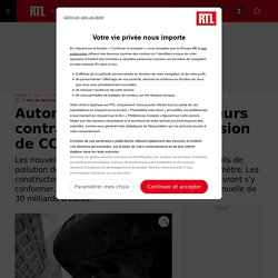 Automobile : les constructeurs contraints de limiter l'émission de CO2 de leurs véhicules