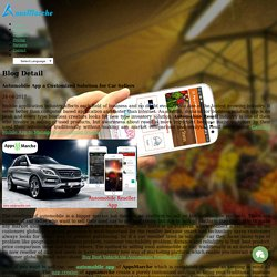 Automobile App a Customized Solution for Car Sellers
