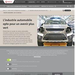 Industrie automobile : réduction de l'empreinte écologique