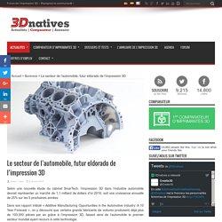 Le secteur de l'automobile, futur eldorado de l'impression 3D