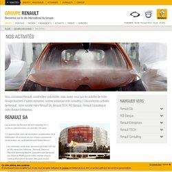 Automobile et financement : les domaines d'activité de Renault