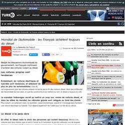 Mondial de l'Automobile : les Français achètent toujours du diesel