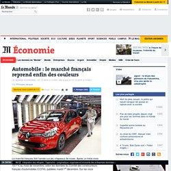 Automobile : le marché français reprend enfin des couleurs
