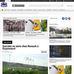 Automobile : Suicides en série chez Renault à Guyancourt - Economie