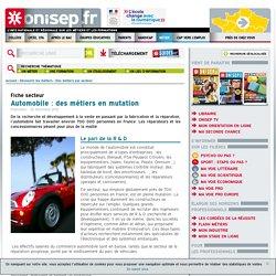 Onisep : fiche-secteur Automobile