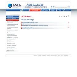 Stations de lavage / Les secteurs / L'essentiel des services de l'automobile / Accueil - ANFA Observatoire des métiers de la Branche des services de l'automobile