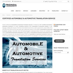 What Are Flexible Certified Automotive Translation Options?