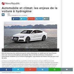 Automobile et climat: les enjeux de la voiture à hydrogène