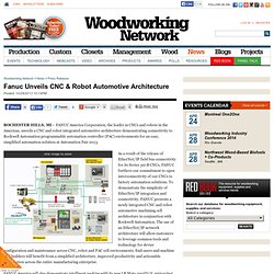 Fanuc Unveils CNC & Robot Automotive Architecture