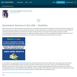 Automotive Services in the USA – SeekZoo