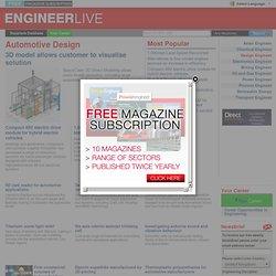 Automotive Design - Design Engineer - Engineer Live, For Engineers, By Engineers