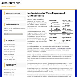 Master Automotive Wiring Diagrams and Electrical Symbols - Auto-Facts.org