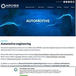 Automotive engineering - software engineering services