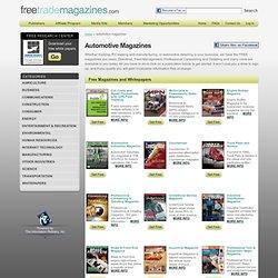Free Automotive Magazines