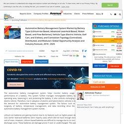 Automotive Battery Management System Market Size & Forecast : 2025