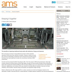 Keeping it together - Automotive Manufacturing Solutions