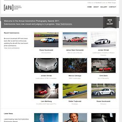 [APA] Automotive Photography Awards