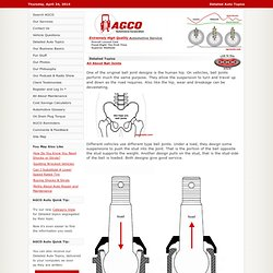 AGCO Automotive Repair Service - Baton Rouge, LA - Detailed Auto Topics - All About Ball Joints